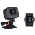 New Arrival AMKOV AMK200S dual lens 360 360 Degree Panorama Camera HD WiFi Sport Camera Action