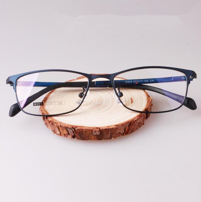 14decfb0e 2016 Male Prescription Frame armacao oculos de grau Eye Glasses Frames Men  with Blue Gray Black