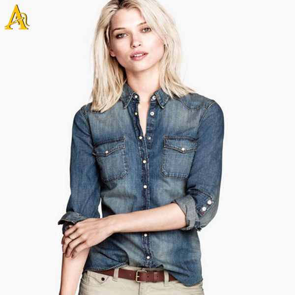 Find great deals on eBay for Womens Denim Shirt in Tops and Blouses for All Women. Shop with confidence.