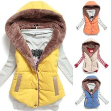 New Hot Women Vests Plus Size Sleeveless Vest Femininas Cotton Vests Hoody jacket Women Waistcoat