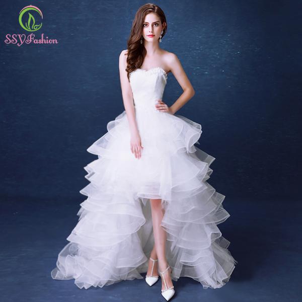 Ssyfashion Long Sleeve Wedding Dresses The Bride Elegant: Aliexpress.com : Buy White Lace Wedding Dresses 2016 The