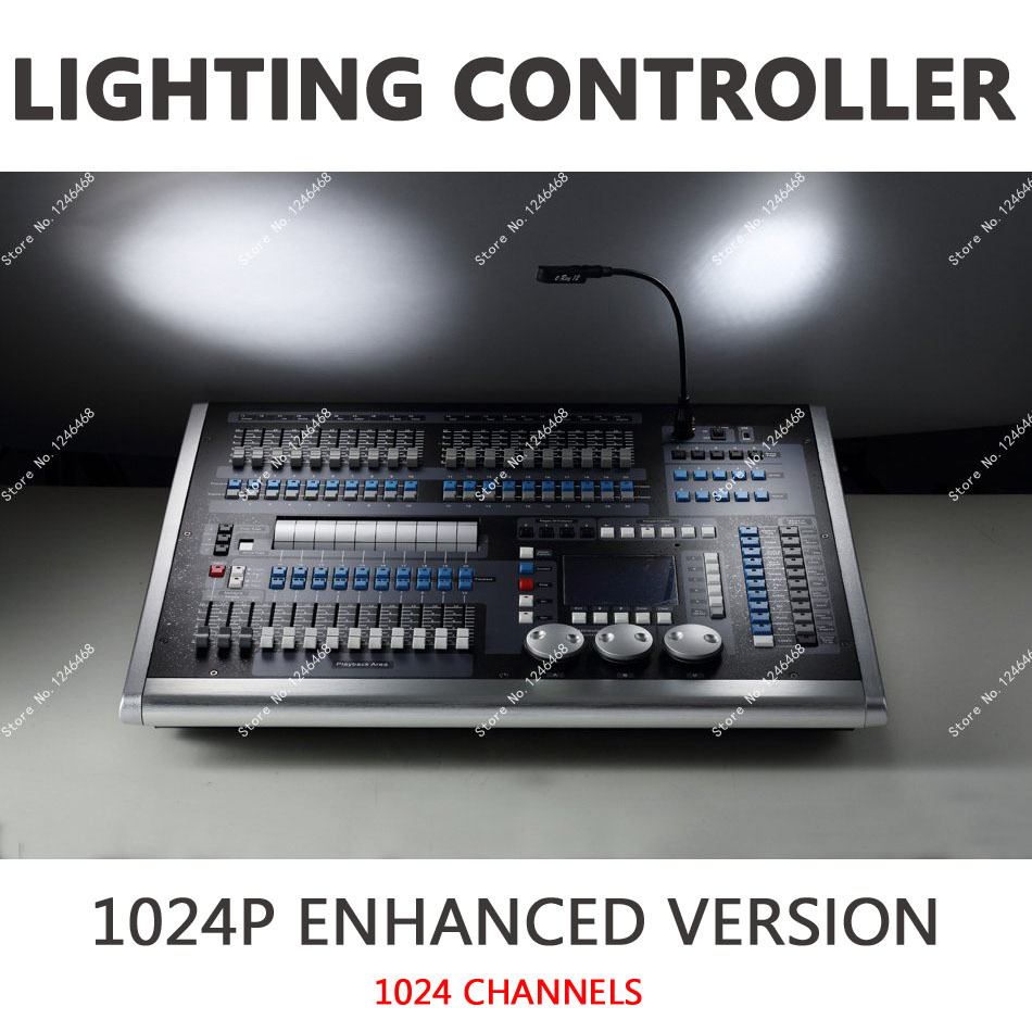Theater Light Control System: 2015 New DMX 512 /1990 Standard 1024P LED Stage Lighting