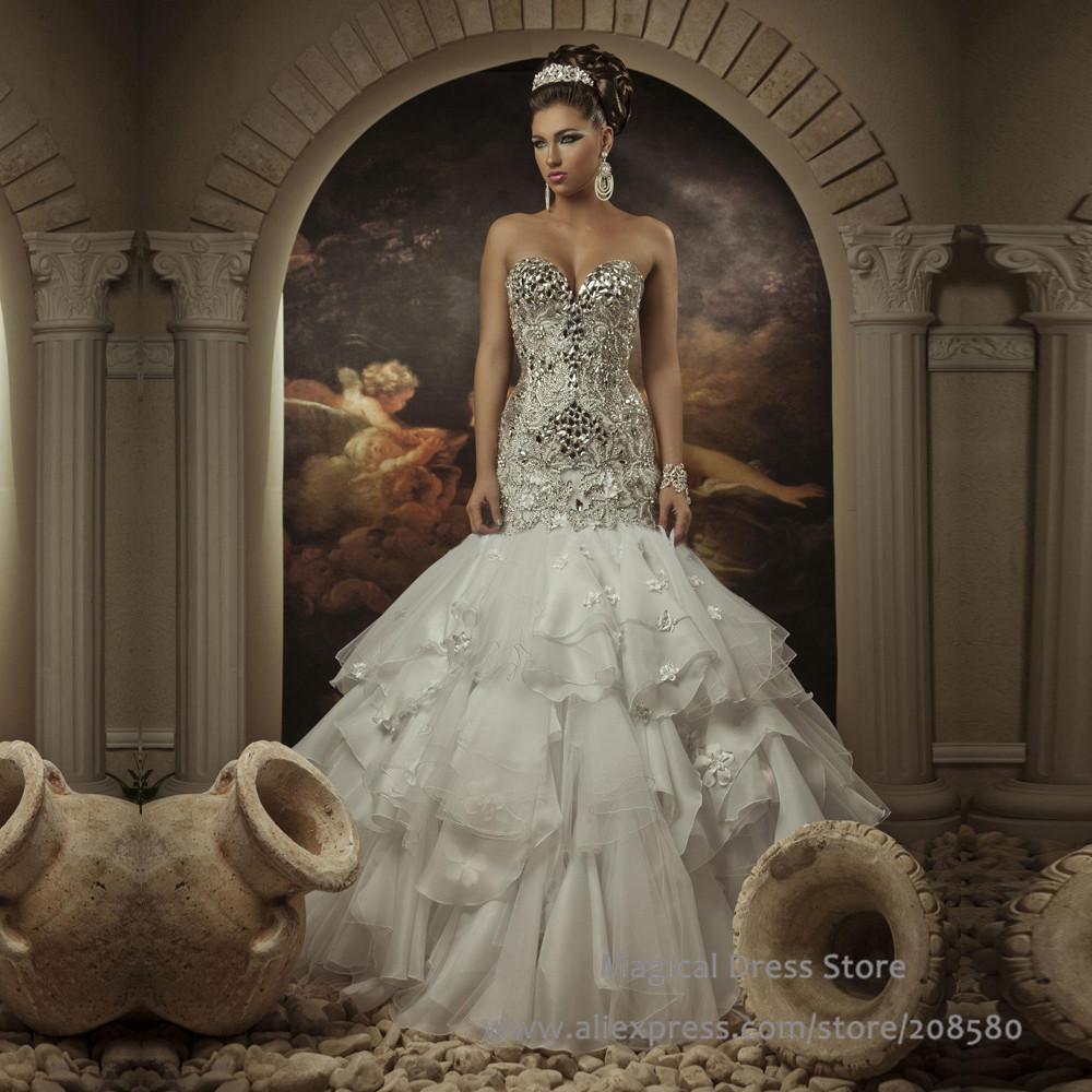 103 Best Rhinestone Wedding Dresses Images Wedding Dresses