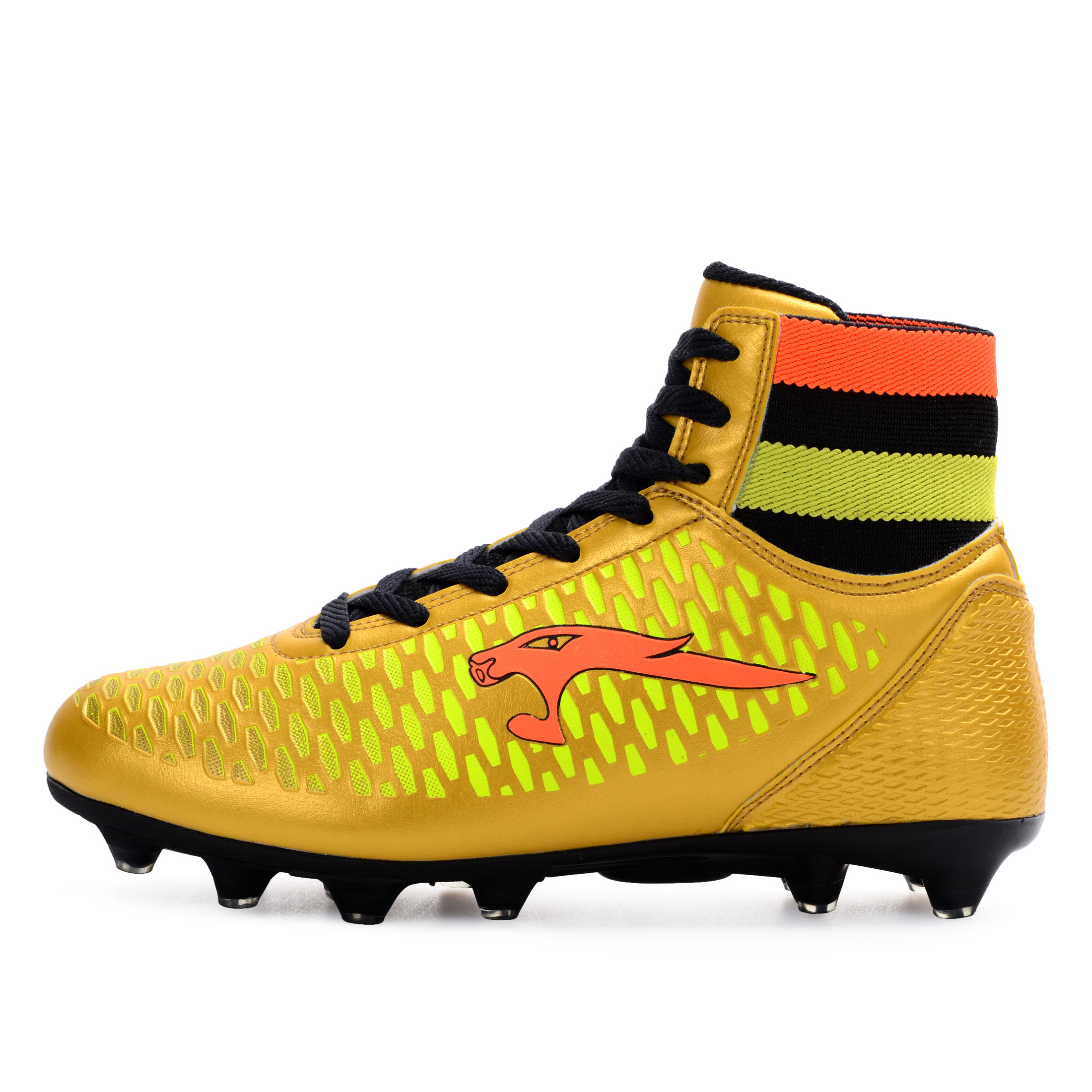 0c738ea8e6d4 High Top Soccer Cleats Men Shoes Leather Soccer Boys Football Boots High  Ankle Cheap 2016 Men High Ankle Original Football Boot | Waterproofware  Reviews