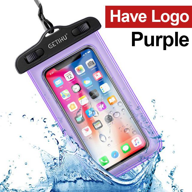 GETIHU Универсальный Водонепроницаемый Чехол для iPhone X XS MAX 8 7 6 s 5 Plus, чехол, пакет сумка Чехлы для телефона, водонепроницаемый чехол для телефон...(Китай)