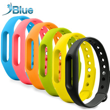 For Xiaomi mi belt Bracelet pink yellow blue orange green xiaomi Accessories mi band belt colorful Wristbands for mi band