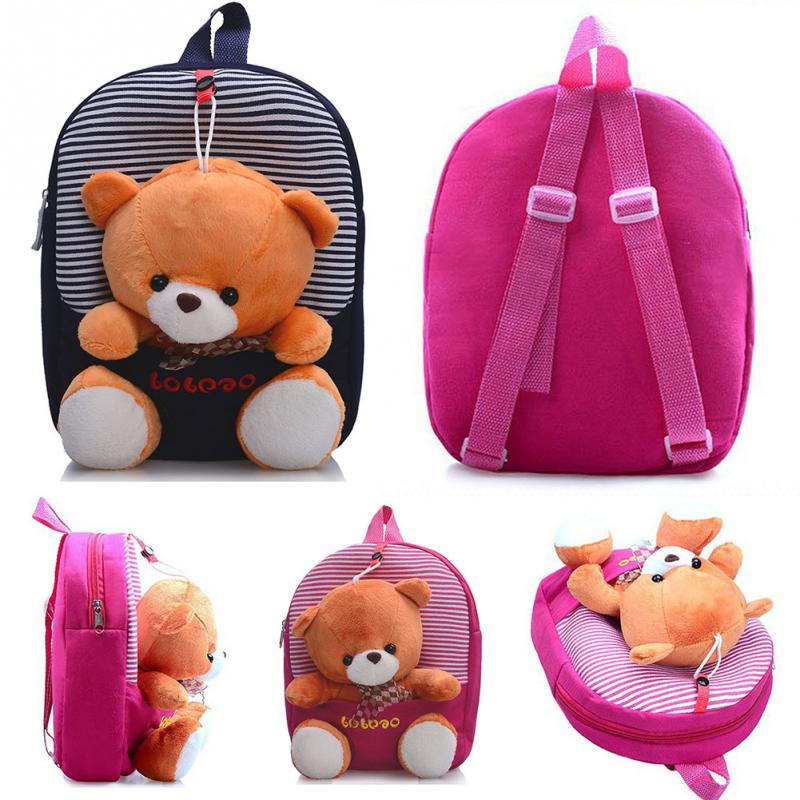 8eecc4c7e1fb Kawaii Cute Children School Bags Backpack Kindergarten Girls Boys ...