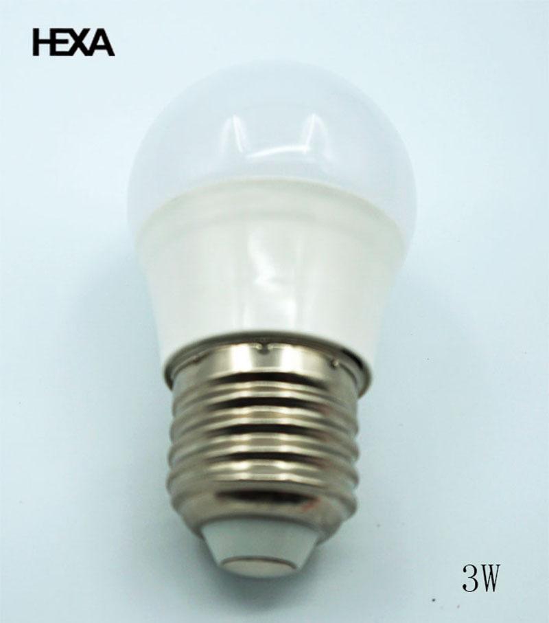 hexa e27 3w led lamp 220v economic models led bulb 40 watt equivalent led light lighting living. Black Bedroom Furniture Sets. Home Design Ideas