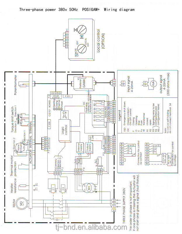 bernard motorized modulating valve electric actuator - buy ... p323011 gas valve wiring diagram ross valve wiring diagram