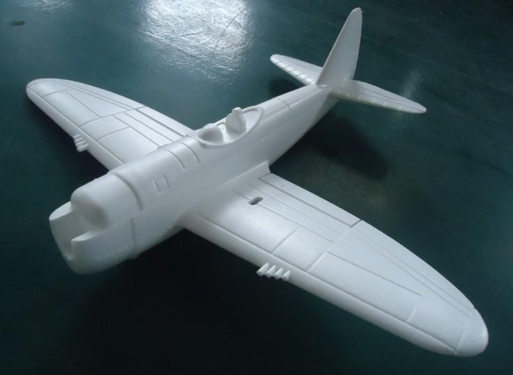 630mm P47 Hand Launch RC Plane Kit