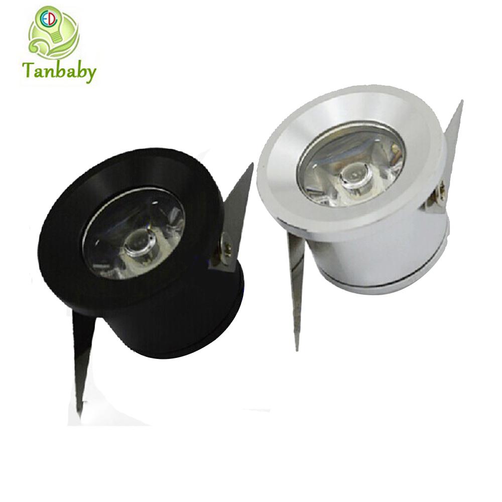 tanbaby 5pcs lot mini led spot downlight 1w 3w cabinet lamp white warm white ac85 265v include. Black Bedroom Furniture Sets. Home Design Ideas