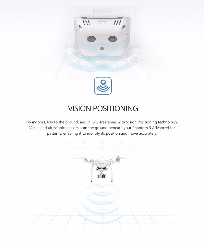 (In Store) DJI Phantom 3 Advanced Aerial Drone RC Helicopter With HD Camera  Brushless Gimble GPS System with Free gifts