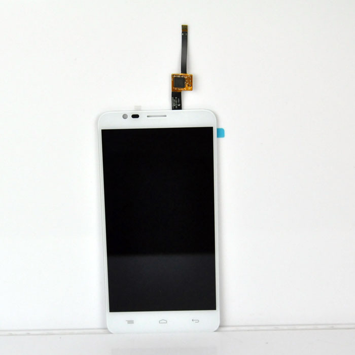 White Color LCD Display Assembly Touch Screen Digitizer