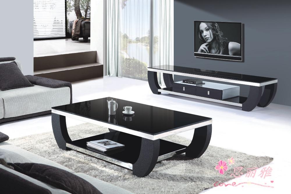 Black glass tv stand metal tv stand living room tv stand - Glass centre table for living room ...