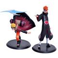 2pcs Naruto figure toys uzumaki naruto akatsuki madara figuren 18cm 2016 New Anime Naruto sasuke figurines