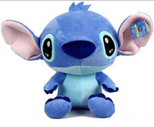 Hot Sale 40CM New Arrival Cute Cartoon Figures Lilo and Stitch Plush Toy Doll Stuffed Toys Dolls High Quality PT013