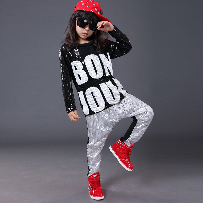 Trendy Hot Kids Hip Hop Clothing Persionality Boys Girls ...