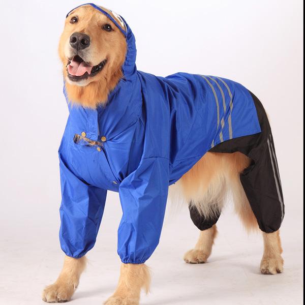 aadc3ea79ce abrigo impermeable perro grande