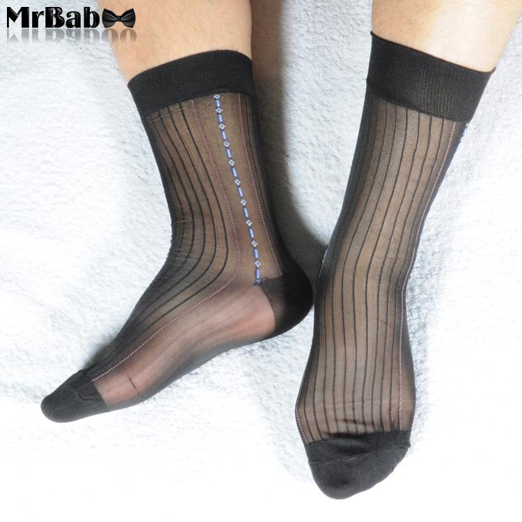 Mens Nylon Socks 69