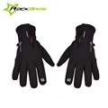 ROCKBROS Thermal Windproof Warm Fleece Gloves Winter Cycling Gloves Man Women Anti slip Water Resistant Anti