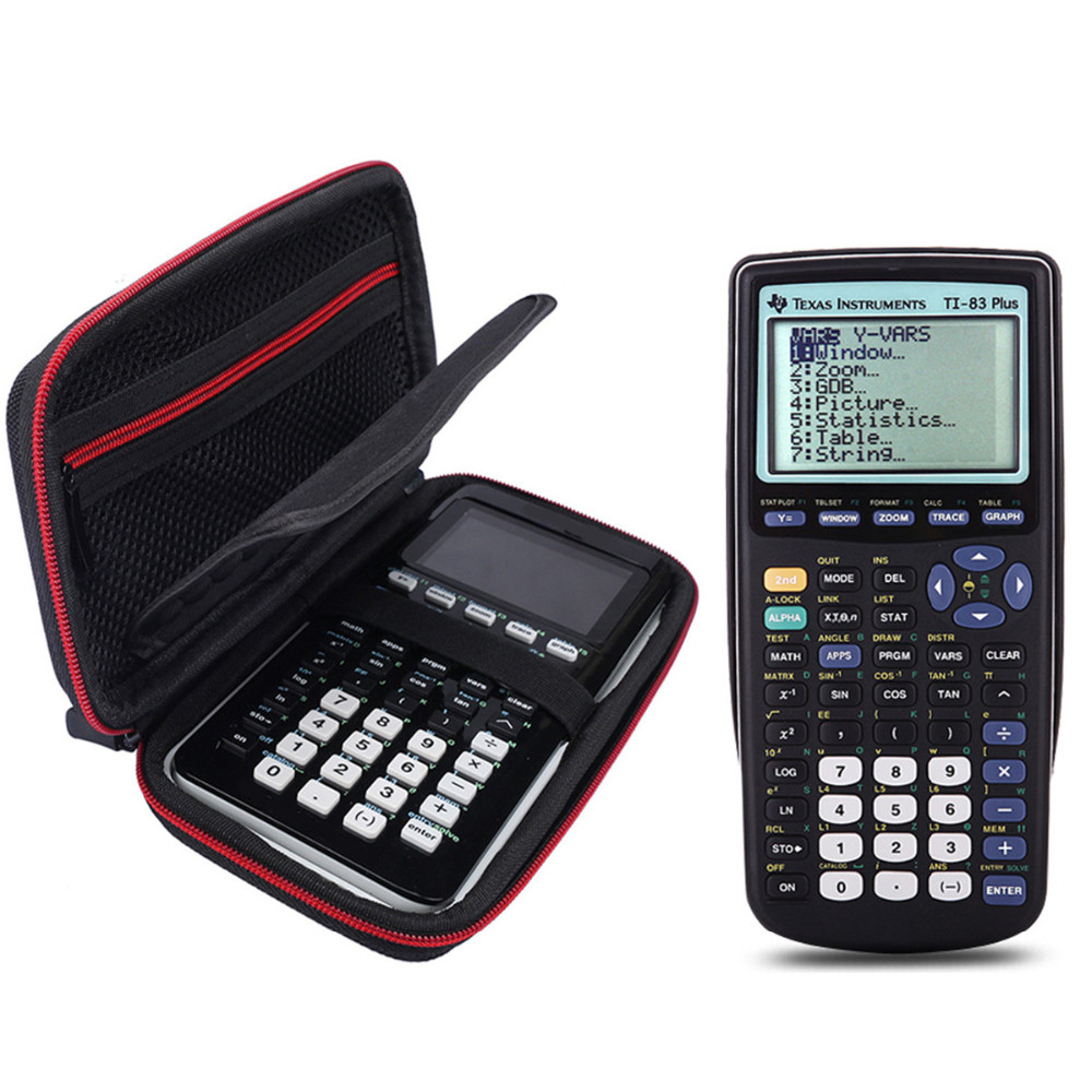 Hard Carrying Travel Storage Case For Texas Instruments TI-84 Plus CE  Graphics Calculator, 83, 85, 89, 82, Plus / CE  + More