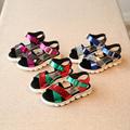 Girl Summer Shoe New leather Sandals Boys Mixed Colors Sequins Girls Princess Shoes Shildren sandals Boys