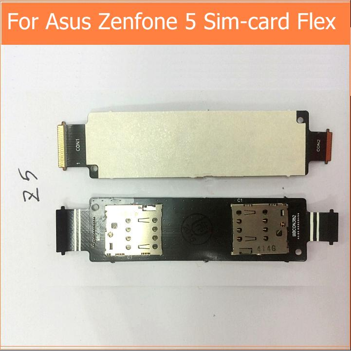 Sim карта держатель читатель контактор для Asus zenfone 5 a500cg a500kl A501CG замена слот лоток со шлейфом