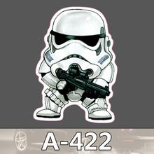 A 422 Star Wars Waterproof Fashion Cool DIY Stickers For Laptop Luggage Fridge Skateboard Car Graffiti