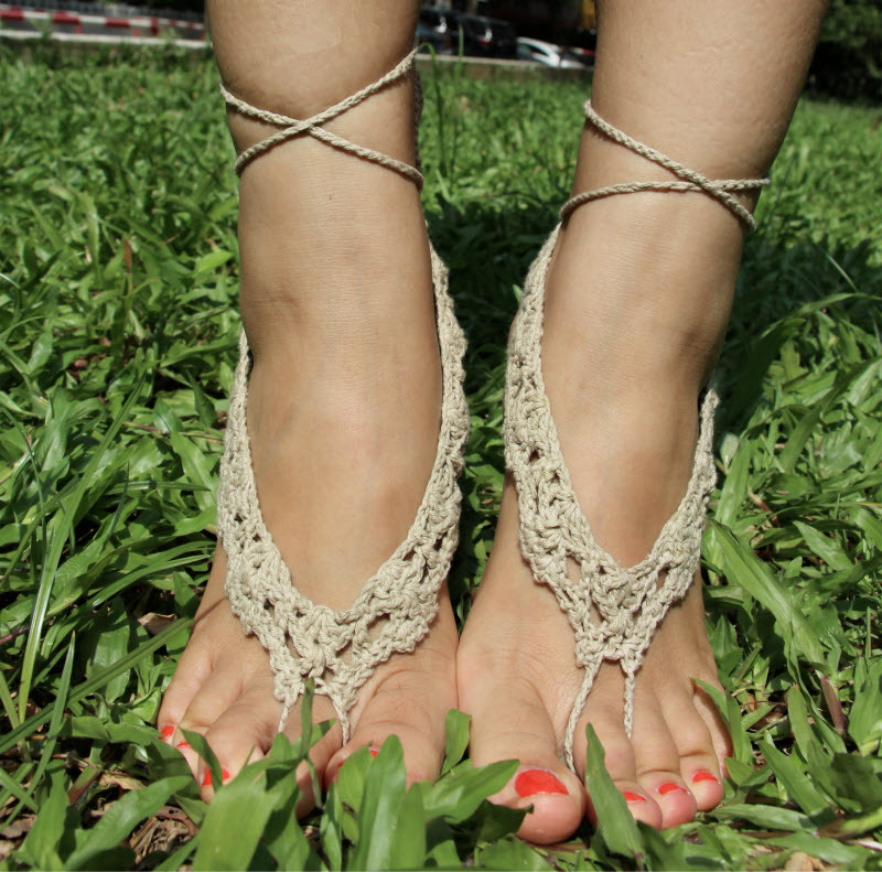 Hot Sale Sexy Foot Jewelry Anklet Cotton Handmade Bracelet