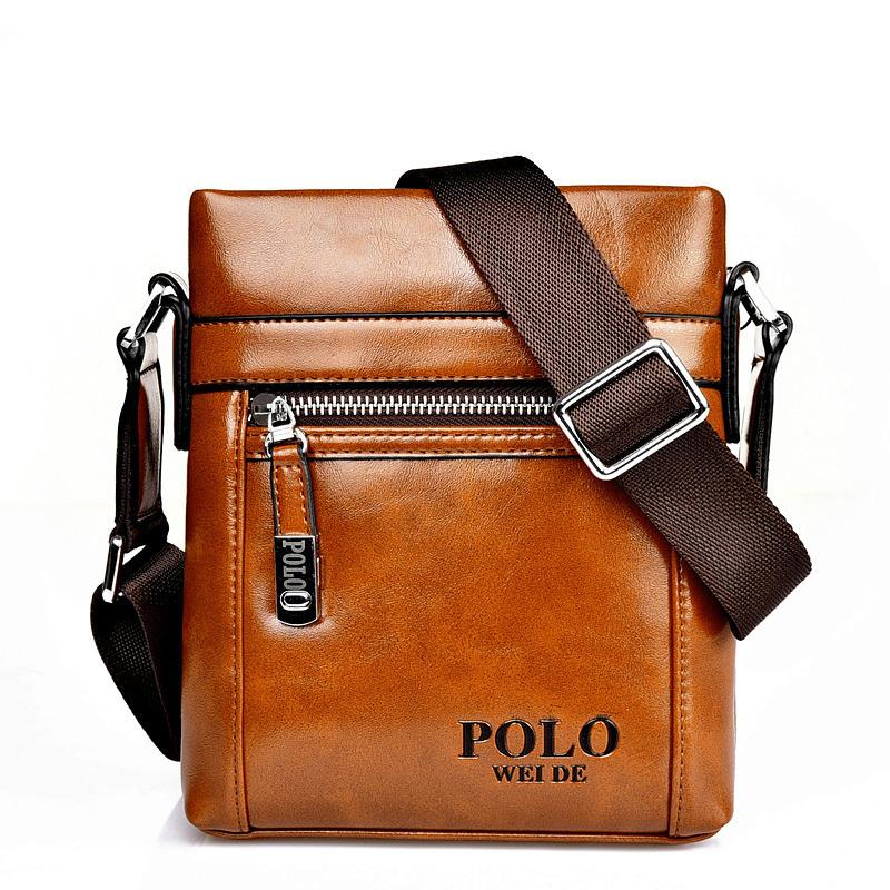 Авен - дизайн кожа мужчины мешок, Свободного покроя бизнес кожа мужские сумка-мессенджер, Винтажный мужские крестики тело мешок