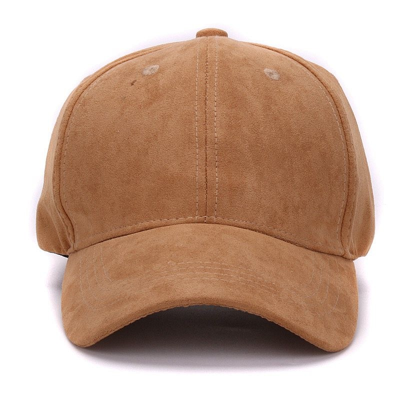 9f266d234c4436 Wholesale- Plain Suede baseball caps with no embroidered casual dad hat  strap back outdoor blank sport cap and hat for men and women