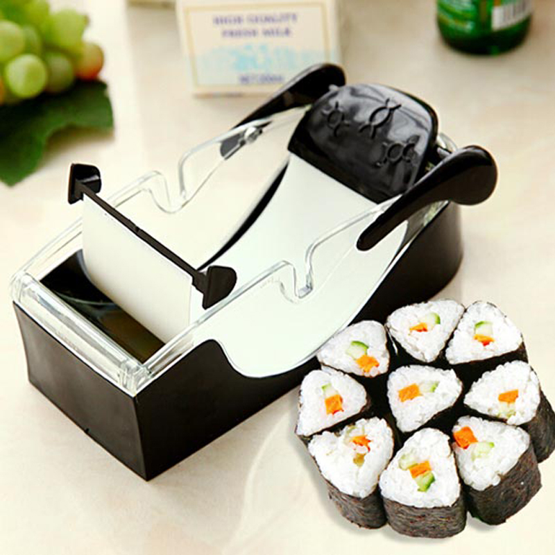 Kitchen Perfect Magic Roll Easy Sushi Maker Cutter Roller DIY Kitchen Perfect Magic Onigiri Roll Tool