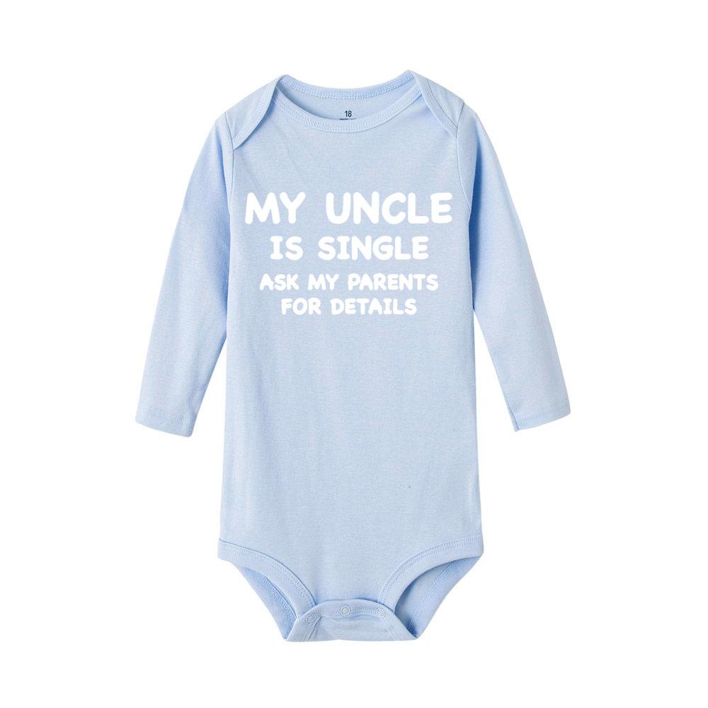 Toddler Baby Girls Bodysuit Short-Sleeve Onesie I Still Live with My Parents Print Jumpsuit Autumn Pajamas