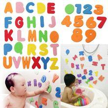 36PCs Alphanumeric Letter Bath Puzzle EVA font b Kids b font Baby font b Toys b