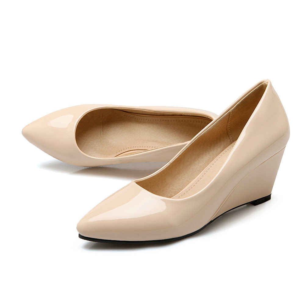 Cheap Wedge Bridal Shoes