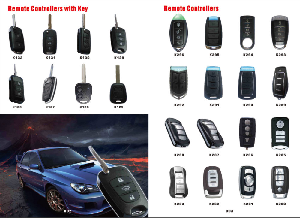 High Quality Variable Frequency Garage Gate Car Remote