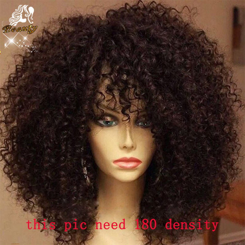 Buy Human Hair Afro Wig For Black Hair 83