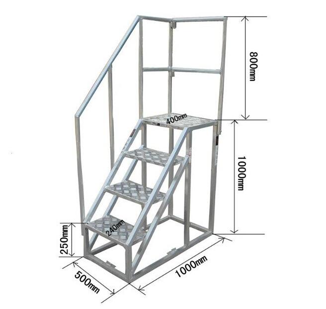 China Aluminum Alloy Ship Gangway Step Ladder Buy