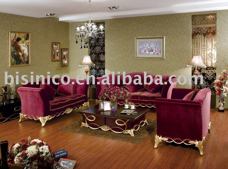 Royal Style Living Room Sofa Set,single Sofa,love Sofa