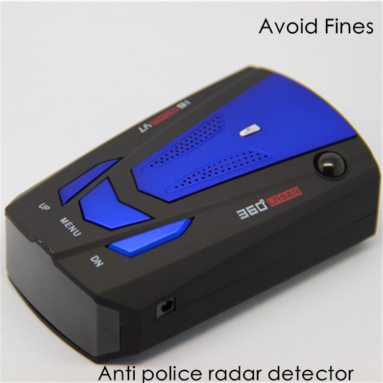 high quality russian english voice 360 degree anti police radar detector for car speed limited. Black Bedroom Furniture Sets. Home Design Ideas