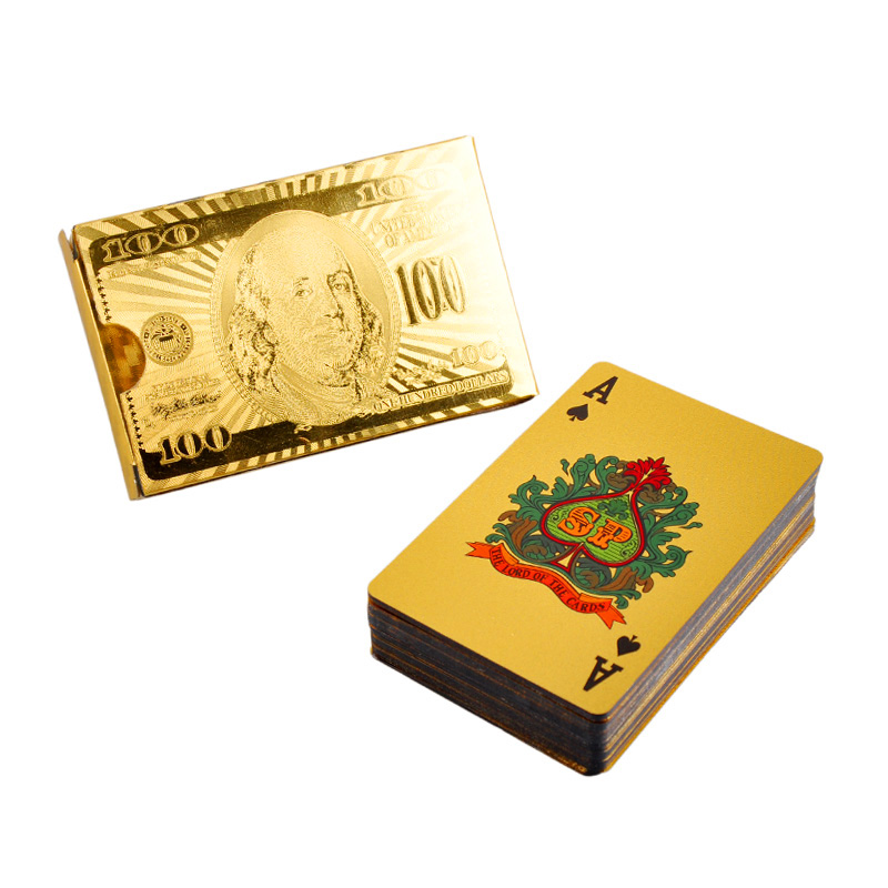 Online Buy Wholesale 24k Gold Playing Cards From China 24k Gold Playing Cards