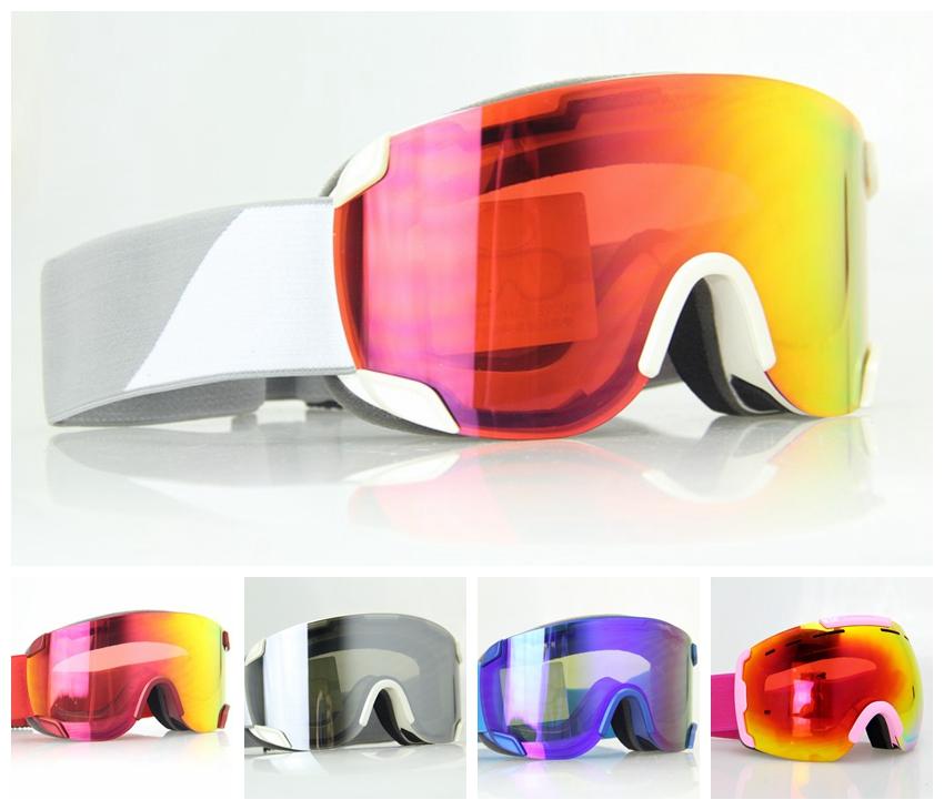 חינם shippingNEW אפור מסגרת בצבע כפול עדשה מוטוקרוס שלג, סנובורד משקפי סקי