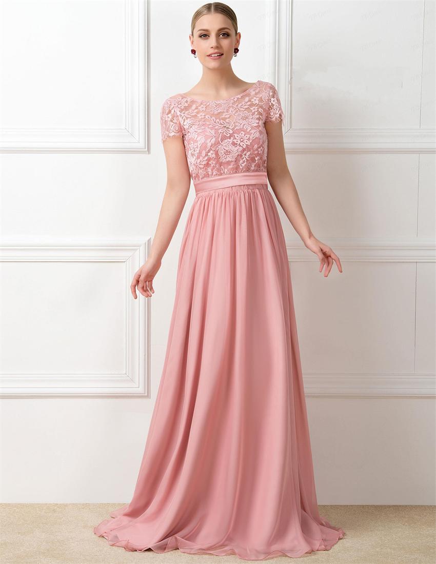 Popular Peach Colored Bridesmaid Dresses-Buy Cheap Peach ...