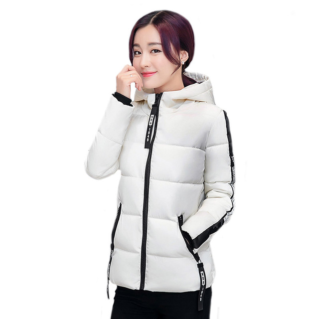 e5f09a933 2016 New Short Parkas Female Women Winter Coat Thickening Cotton Winter  Jacket Womens Outwear Parkas for Women Winter Outwear-in Parkas from  Women's ...