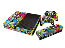 Cool Bomb Full body Decal Sticker For Microsoft For Xbox one Console Durable Video Game Accessories