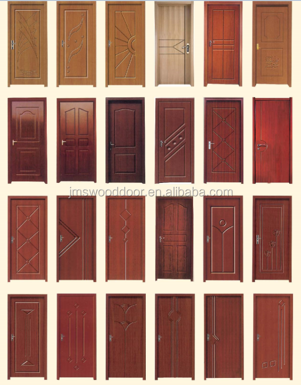 Natural Veneered Wooden Flush Door Design Mdf Living Room: Factory Wholesale Shower Room Mdf Pvc Door/flush Door With