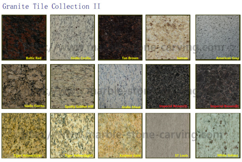 Flamed Granite Floor Tiles