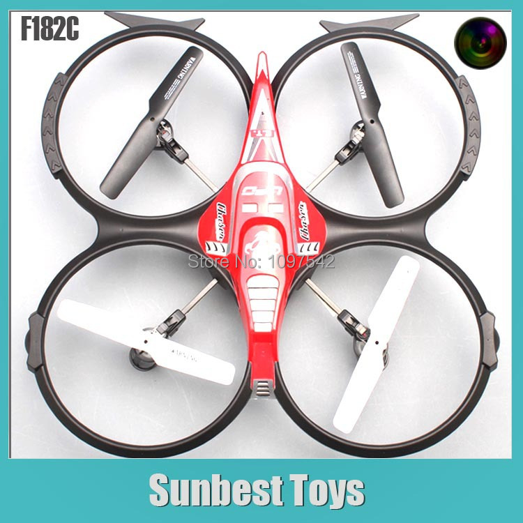 2014 Newest 2in1 DFD 2.4GHz Radio Control Quadcopter F182 6axis Gyro 4Channel