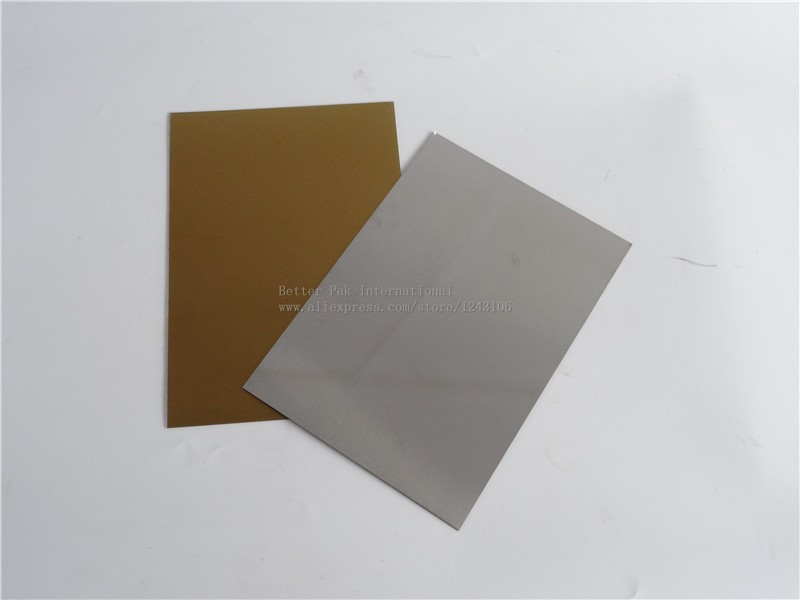A4 Water Washable for Pad Printing Hot Foil Stamping CliChe Making UV  Exposure Photopolymer Plate Mold,$28/pcs