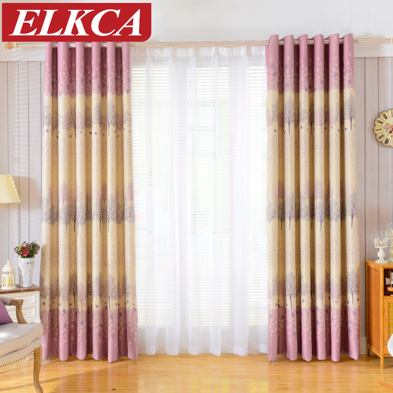 Buy 1 piece printed blackout curtains for - Childrens bedroom blackout curtains ...